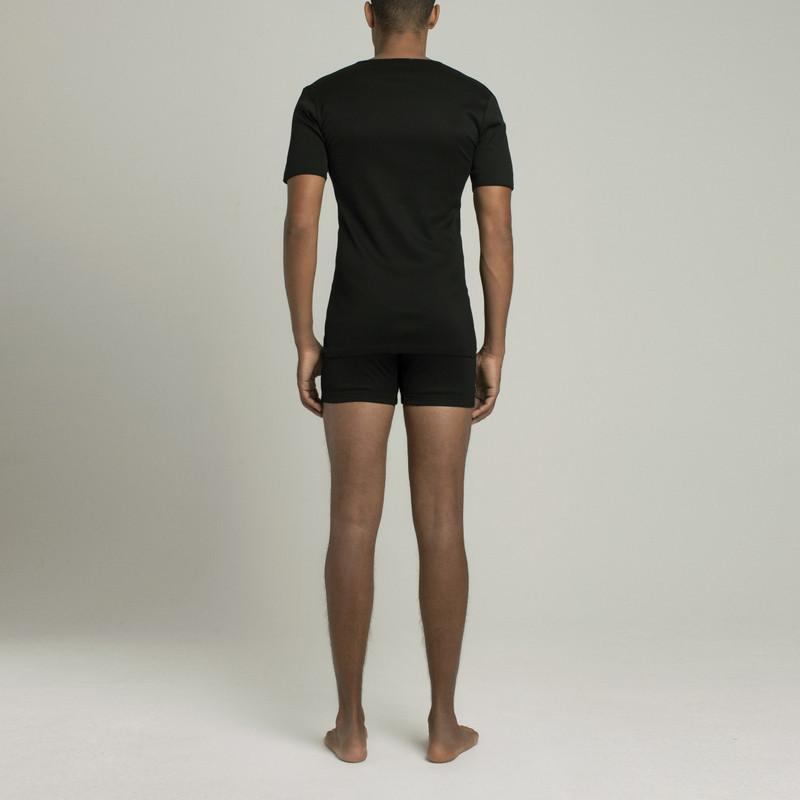 The Fifth V Neck T-Shirt - Black - Image 4