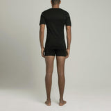 The Fifth V Neck T-Shirt - Black - Mens Underwear | Etiquette Clothiers Global Official