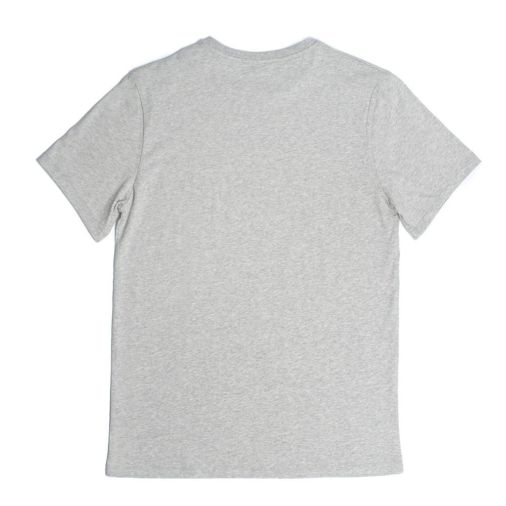 Bedford Crew Neck T  'Keep It Light' - Grey Melange - Loungewear - Etiquette - global.etiquetteclothiers.com