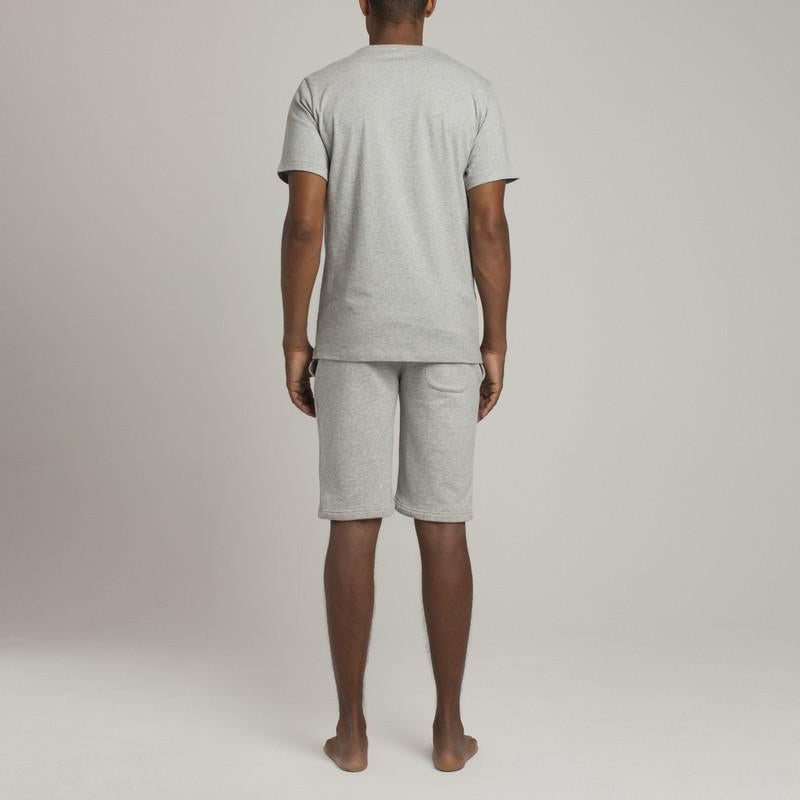 Bedford Pocket Crew Neck T-Shirt - Grey - Mens Loungewear | Etiquette Clothiers Global Official