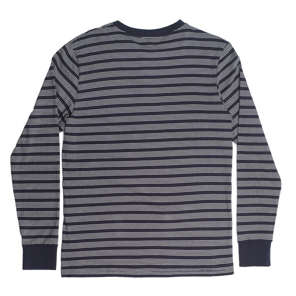 George Henley Crewneck Long Sleeve - Blue - Mens Loungewear | Etiquette Clothiers Global Official
