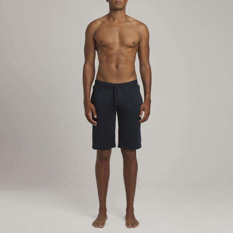 Leroy Terry Short - Navy - Loungewear - Etiquette - global.etiquetteclothiers.com