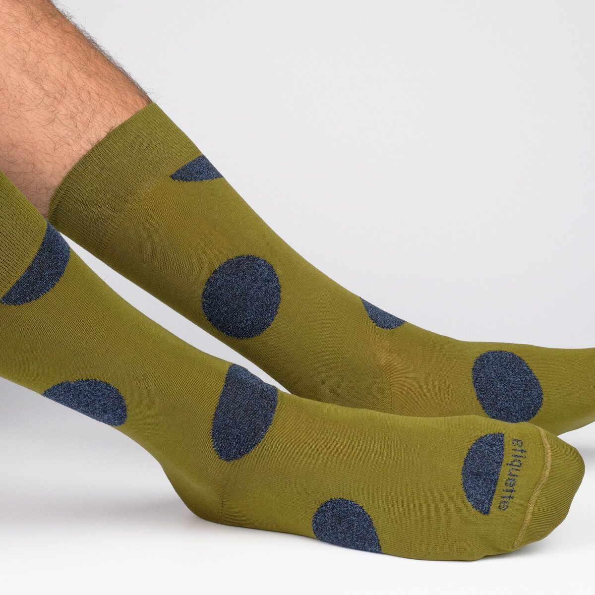 Big Dots - Green - Mens Socks | Etiquette Clothiers Global Official