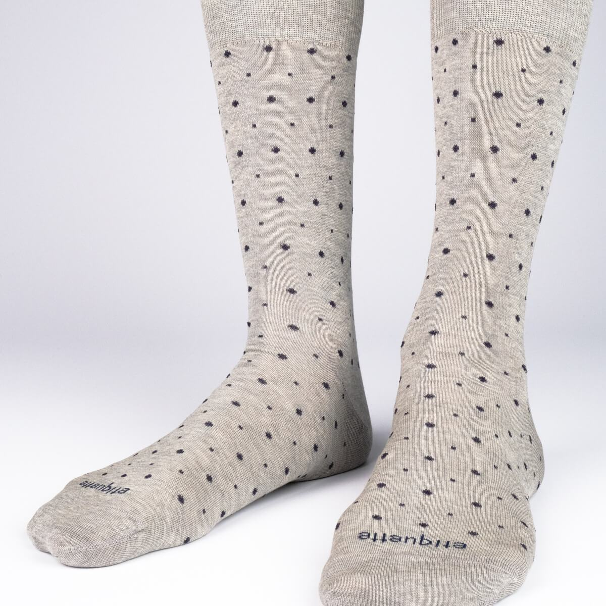 Ball Point - Grey - Mens Socks | Etiquette Clothiers Global Official