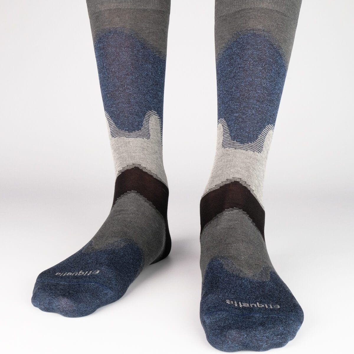 Idyllic - Dark Grey - Mens Socks | Etiquette Clothiers Global Official