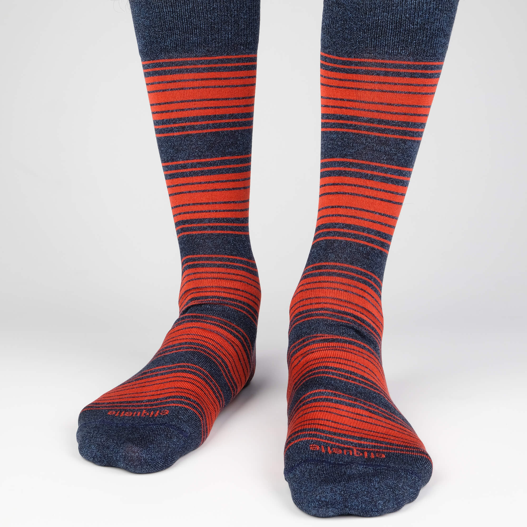 Tokyo Stripes - Blue - Mens Socks | Etiquette Clothiers Global Official