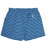 Corsaro Swim Trunk Wave - Dark Blue - Mens Swimwear | Etiquette Clothiers Global Official