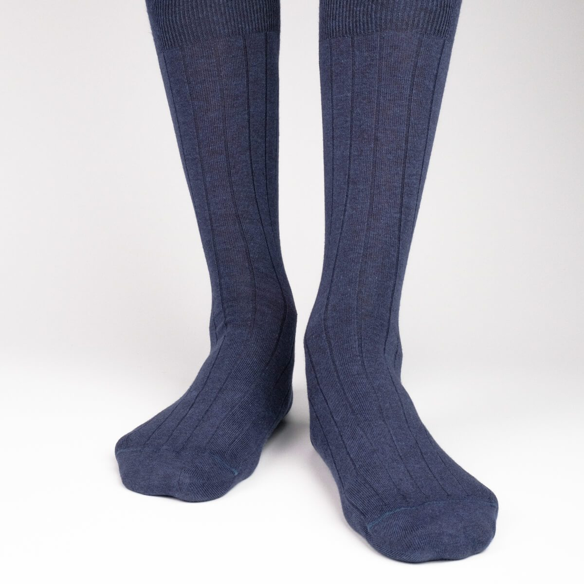 The Classic Rib - Dark Blue - Mens Socks | Etiquette Clothiers Global Official