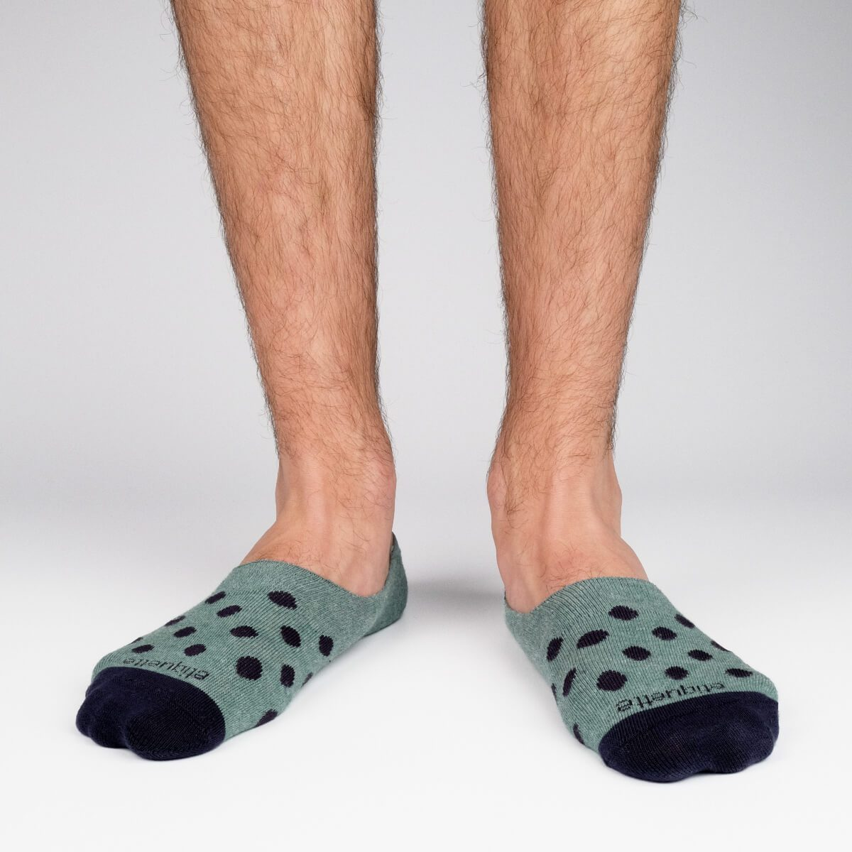 The Classic No Show - Green - Mens Socks | Etiquette Clothiers Global Official