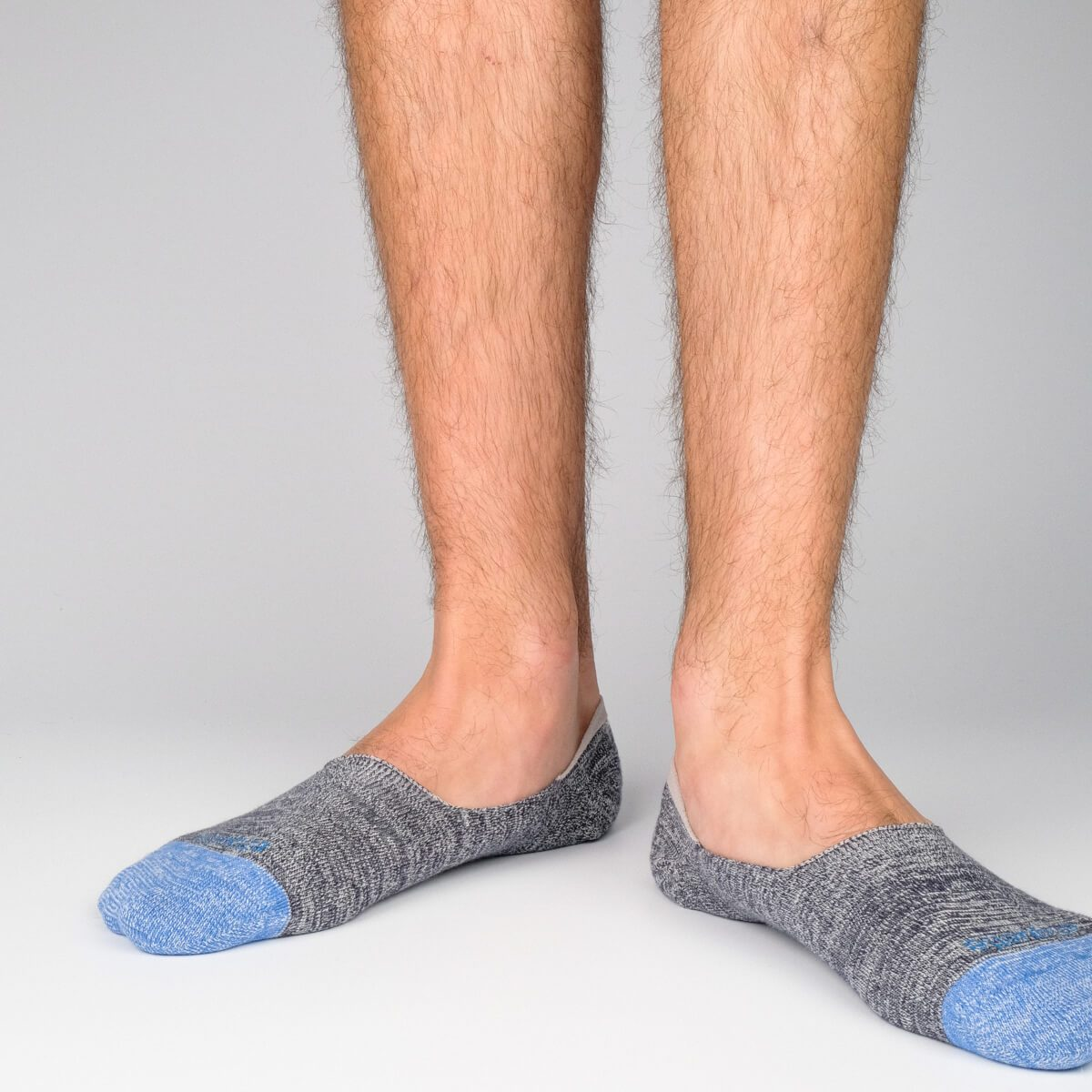 No Show Roppongi - Dark Grey - Mens Socks | Etiquette Clothiers Global Official