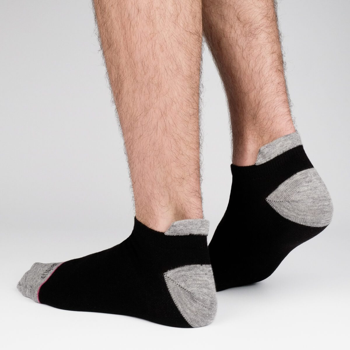 Shorty Slubs - Black - Mens Socks | Etiquette Clothiers Global Official