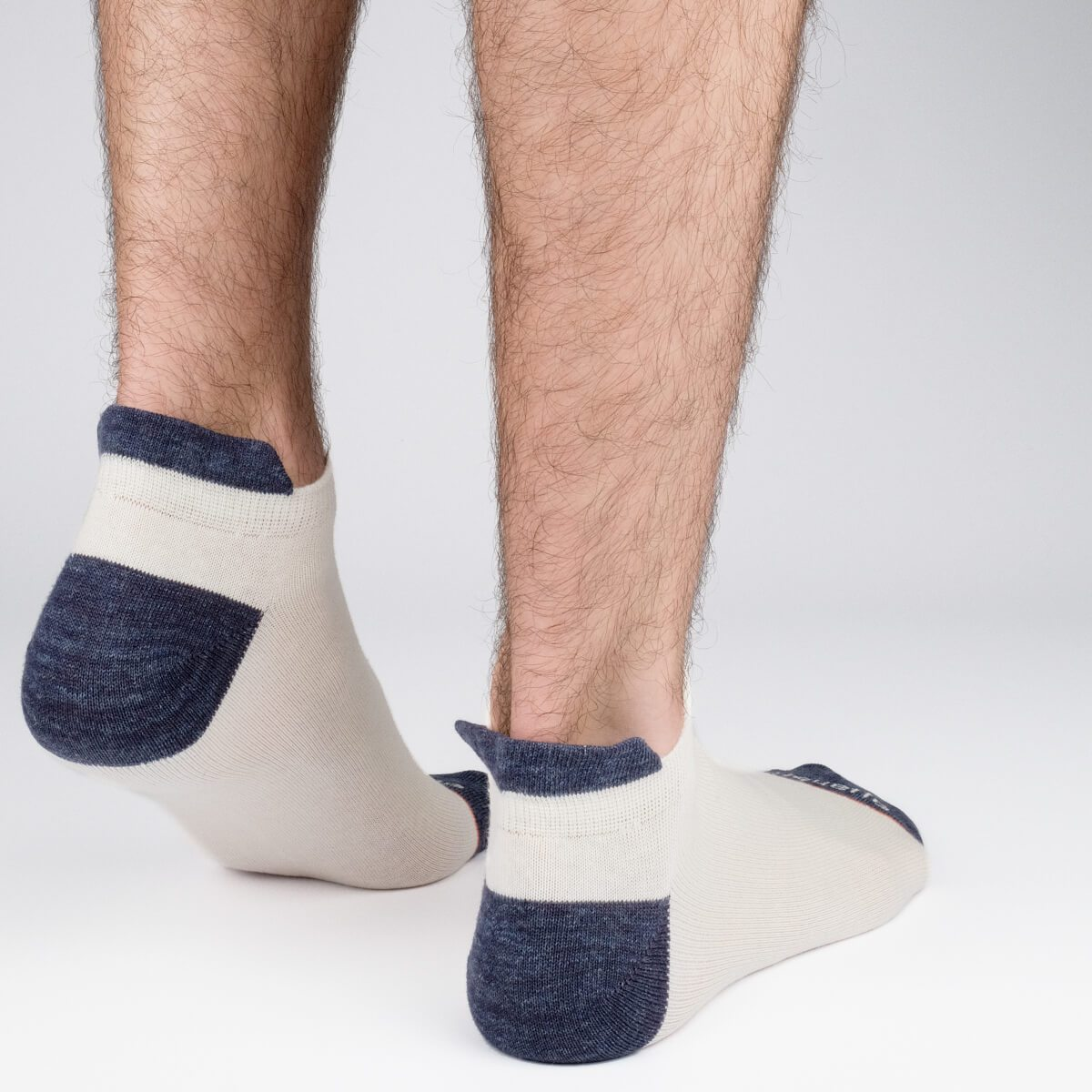 Shorty Slubs - Ecru - Mens Socks | Etiquette Clothiers Global Official