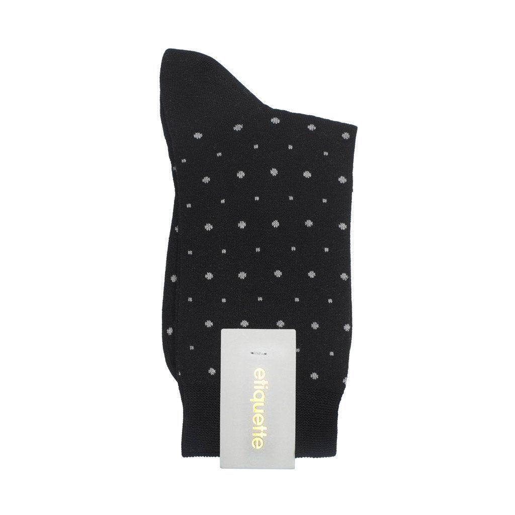 Ball Point - Black - Womens Socks | Etiquette Clothiers Global Official