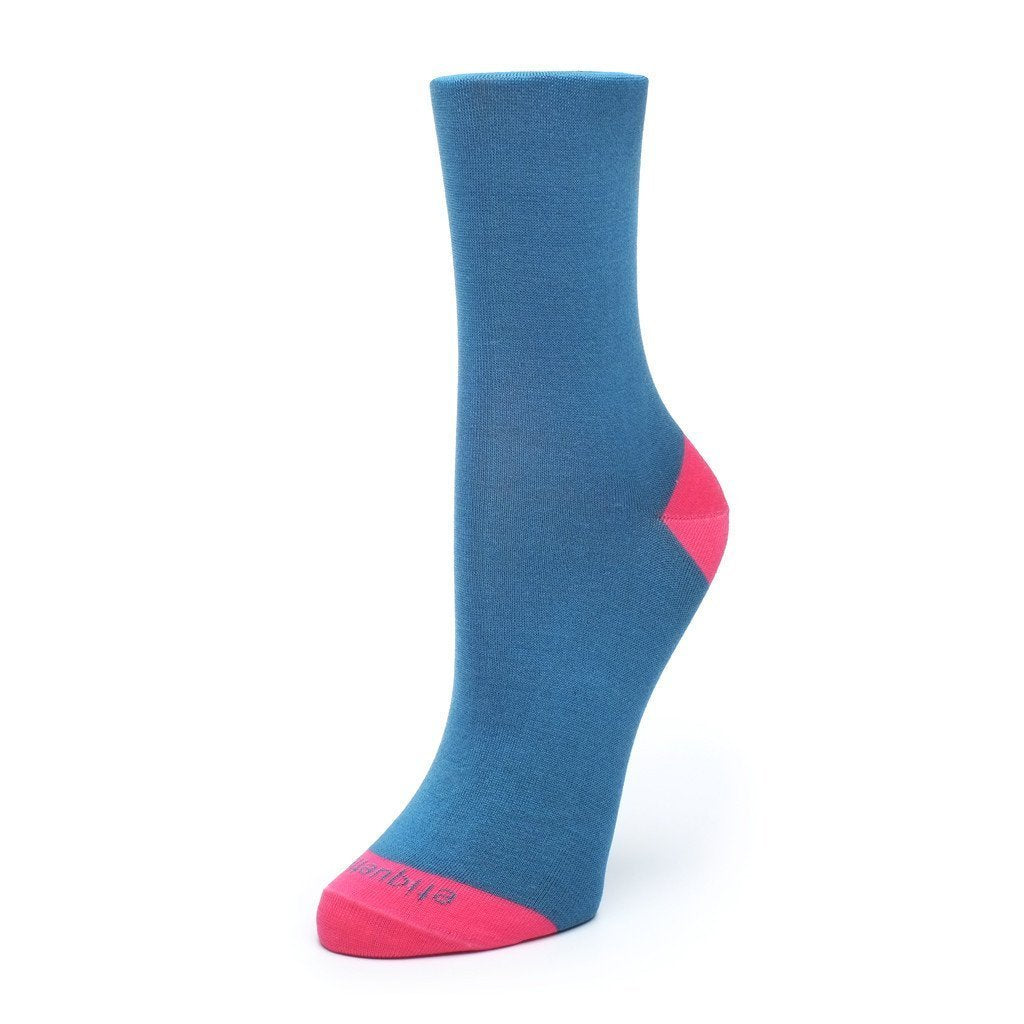 Duo Pops - Blue - Womens Socks | Etiquette Clothiers Global Official