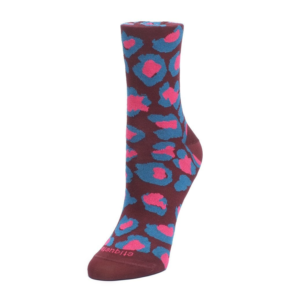 Leo Pop - Bordeaux - Womens Socks | Etiquette Clothiers Global Official