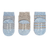 Etiquette x Barneys Boy - Heather Blue and Grey - Baby Socks | Etiquette Clothiers Global Official