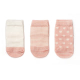 Etiquette x Barneys Girl - Heather Pink and Ecru - Baby Socks | Etiquette Clothiers Global Official