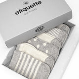 Cashmere - Heather Grey - Baby Socks | Etiquette Clothiers Global Official