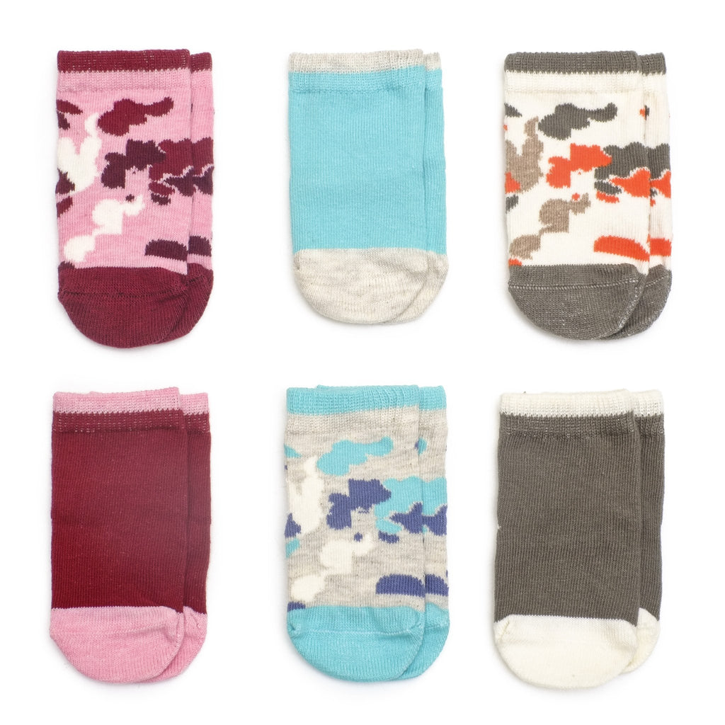 Camouflage Girl - Multi - Baby Socks - Etiquette - global.etiquetteclothiers.com