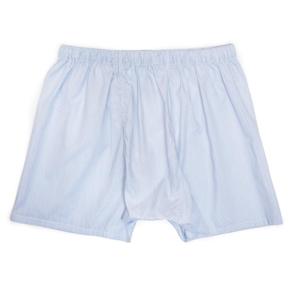 Luxury Boxer Shorts Fine Lines - Blue - Image 5