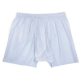 Luxury Boxer Shorts Fine Lines - Blue - Thumb Image 5