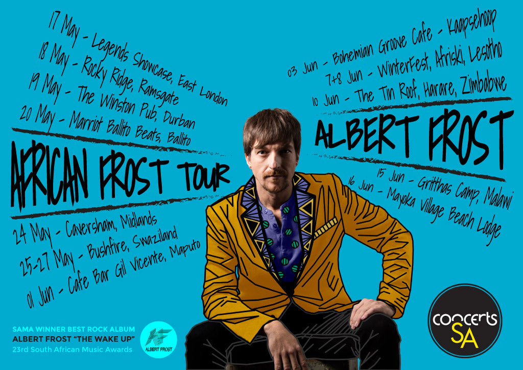 Albert Frost - African Frost Tour