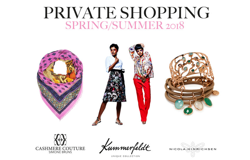 Private Shopping am 7. und 8. April 2018