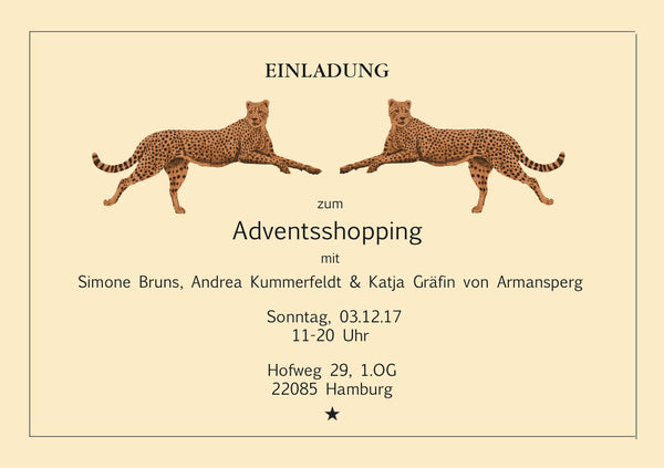 Adventsshopping am 1. Advent im Hofweg 29