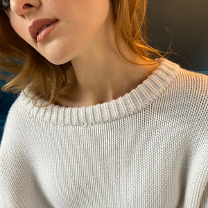 """COOL ISCHGL"" SWEATER - WHITE"