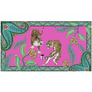 TIGER & JUNGLE - PINK LARGE