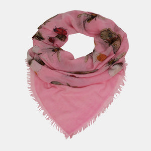 BUTTERFLY DANCE SCARF - PINK