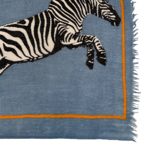 ZEBRA FAMILY - JEANS BLUE