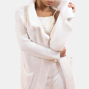 MARA CARDIGAN - CHALK