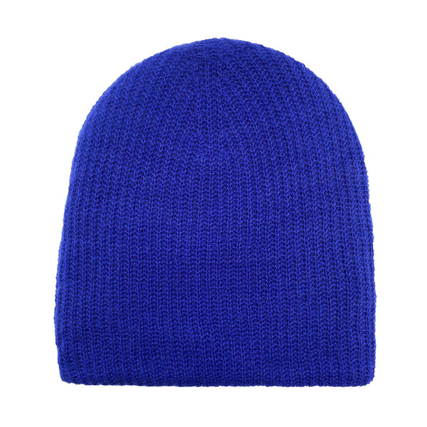 PURE CASHMERE CAP - ROYAL BLUE