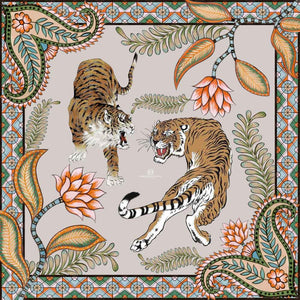 TIGER & JUNGLE - TAUPE