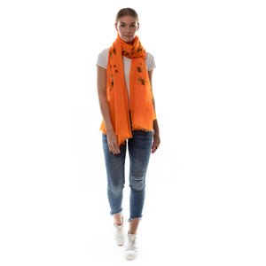 HUMMELFLUG SCARF - ORANGE