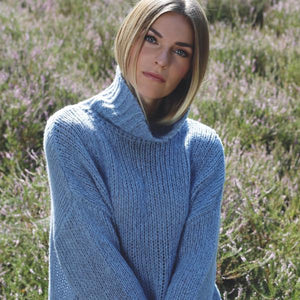 GABRIELLE SWEATER - NIMBUS ATLANTIC
