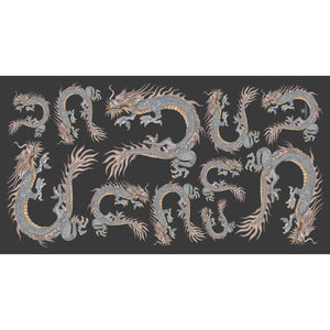 DRAGON Scarf - black