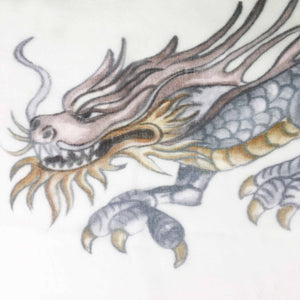 DRAGON SCARF - WHITE