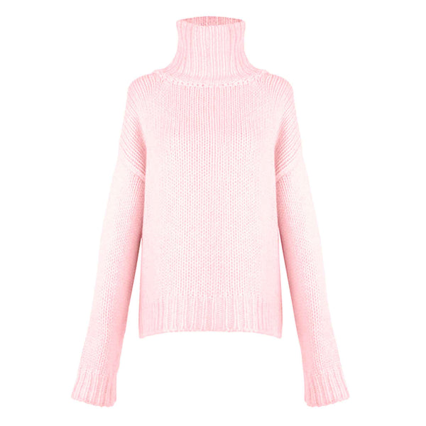 GABRIELLE SWEATER - ROSE