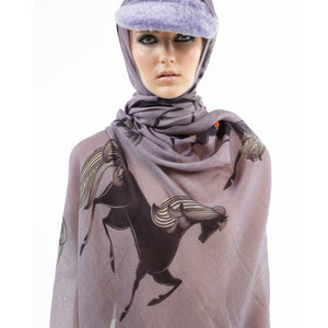 GALOPPP SCARF - TAUPE