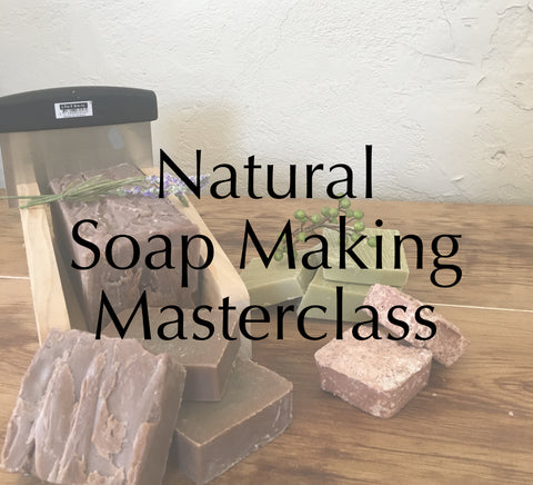 Natural Cold-process Soap making Masterclass