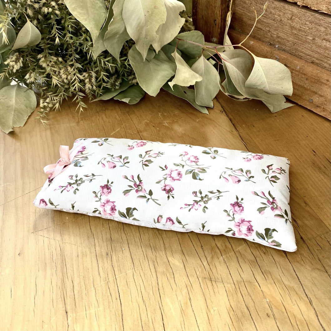 Pink Roses Eye Pillow