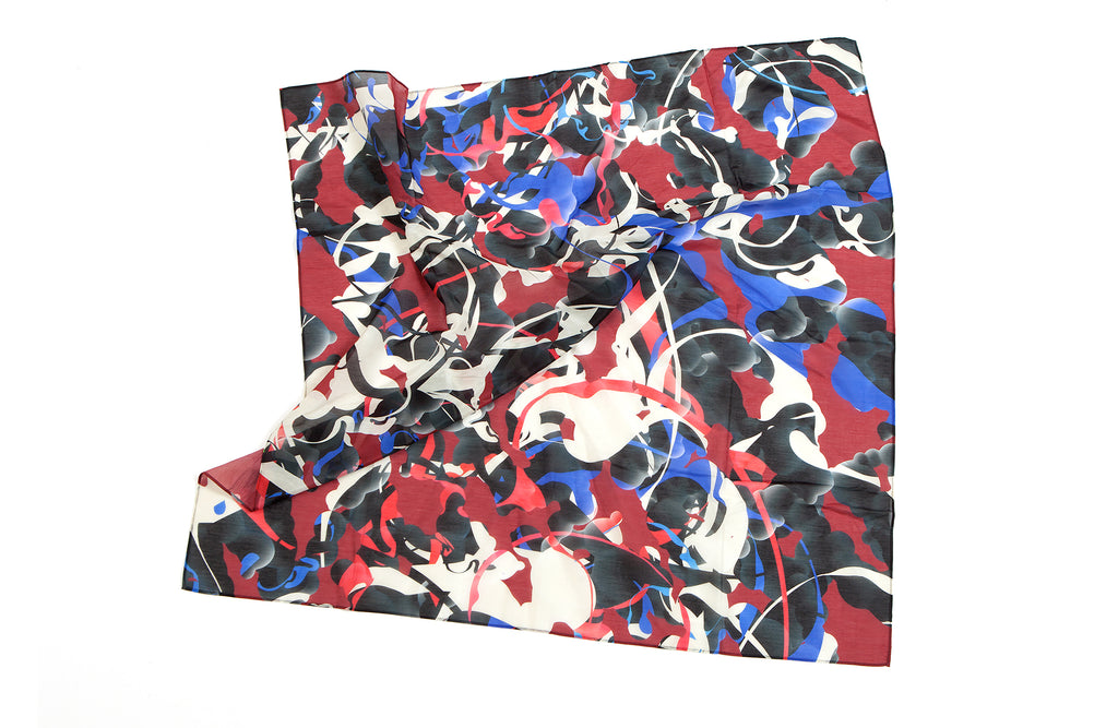 Sugercoat Handkerchief, 42x42 cm, Cotton-Silk Blends