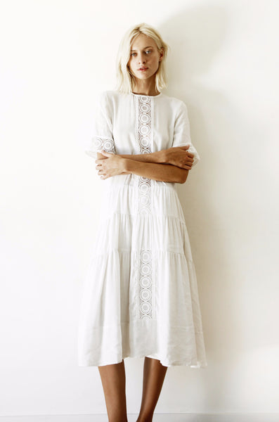 Anatoli Dress / White
