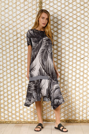 Calcuta print dress