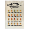 Personalized Grandma's Little Reindeer - Canvas