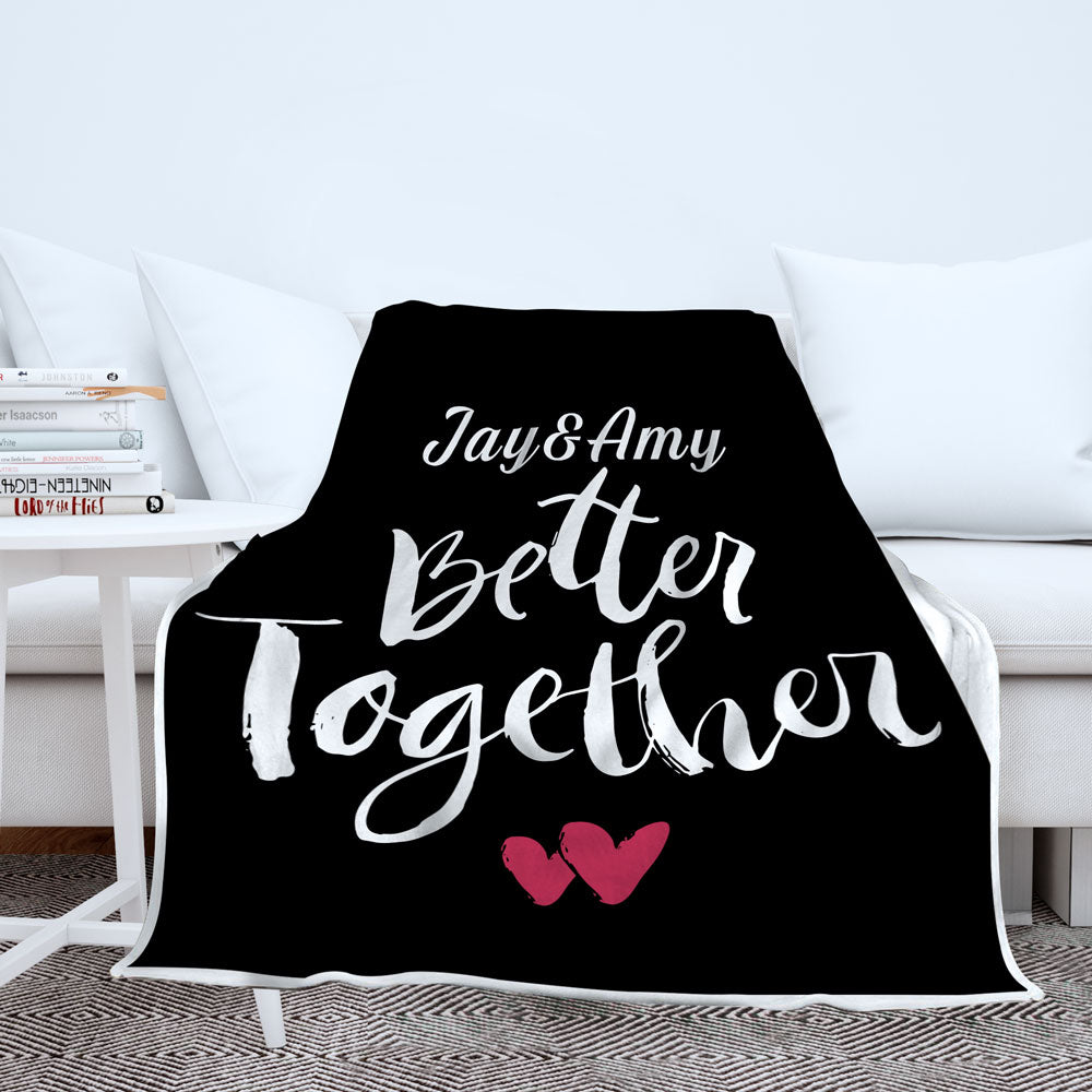 Personalized Better Together Blanket