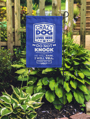 Crazy Dogs - Things Will Get Ugly Flag