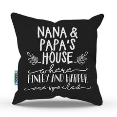 Personalized Grandma & Grandad's House Pillow Cover - 18